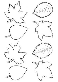 Yaprak Boyama Sayfası