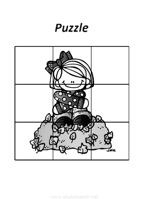 Sonbahar Puzzle Okuloncesitr Preschool