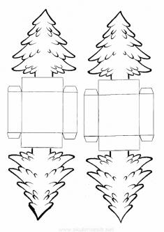 Çam Ağacı Kalıbı