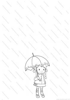 Yağmur Çizgi Çalışma Sayfası