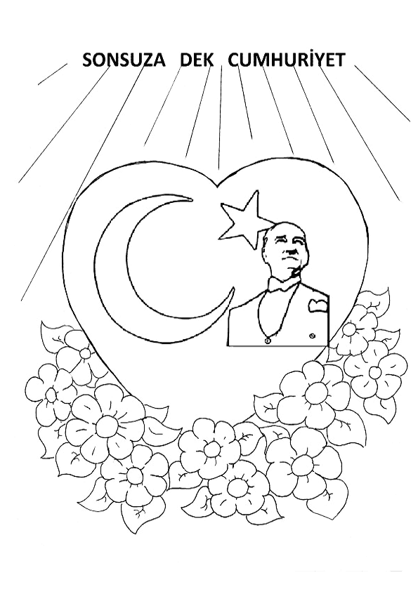 29 Ekim Cumhuriyet Bayramı Etkinlik Kalıbı