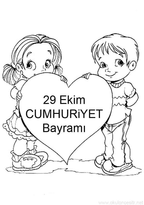 29 Ekim Cumhuriyet Bayrami Etkinlik Kalibi Okuloncesitr Preschool