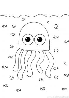 Deniz Anası Boyama Sayfası
