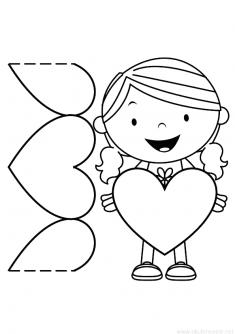 Kalpli Kız Kalıbı