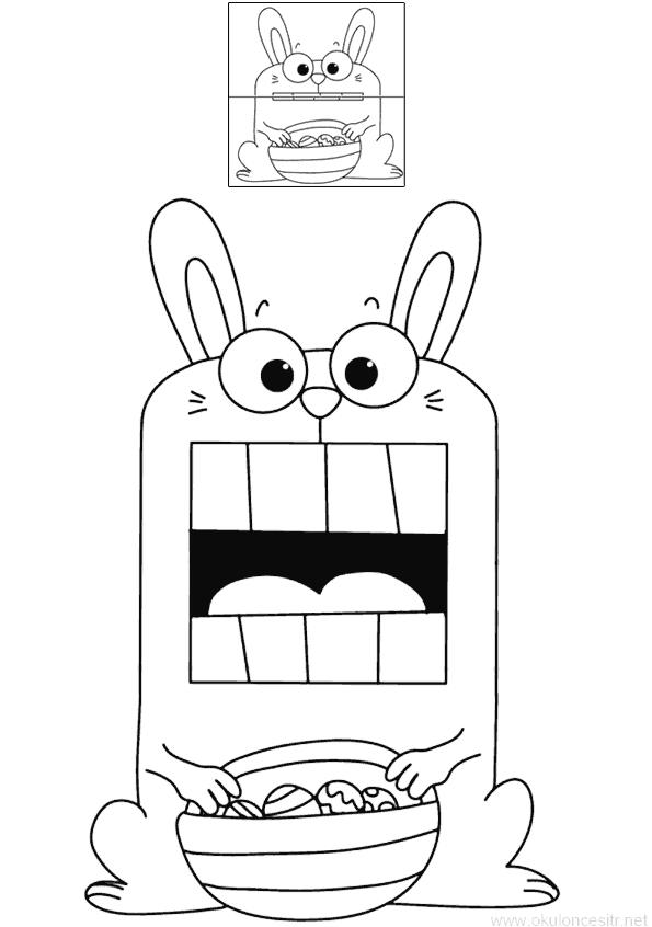 Ağzı Açılan Tavşan Kalıbı