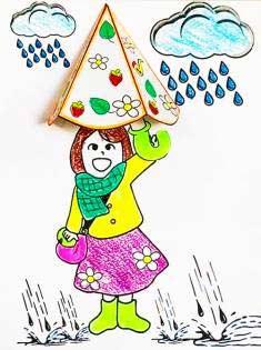 Yağmur Sonbahar Etkinlik Kalıbı