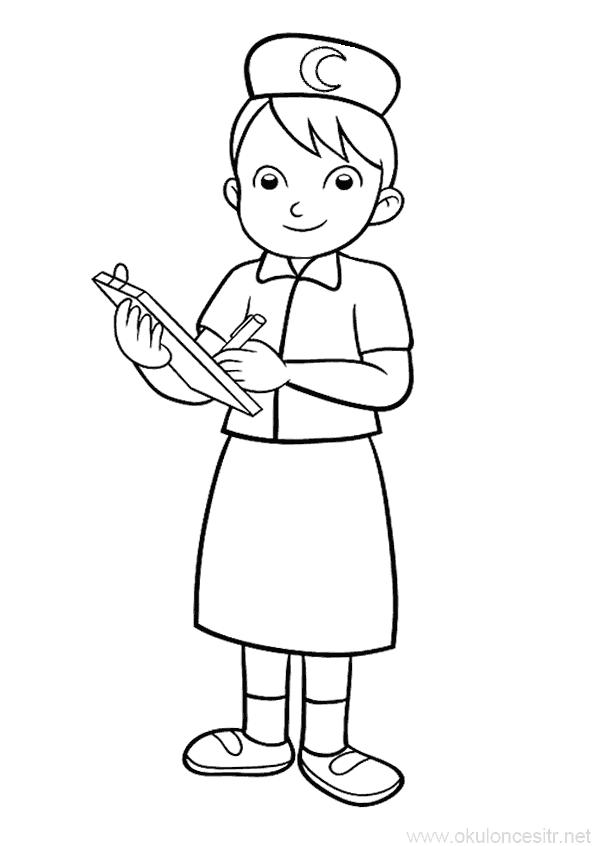 Kizilay Haftasi Boyama Sayfasi Okuloncesitr Preschool