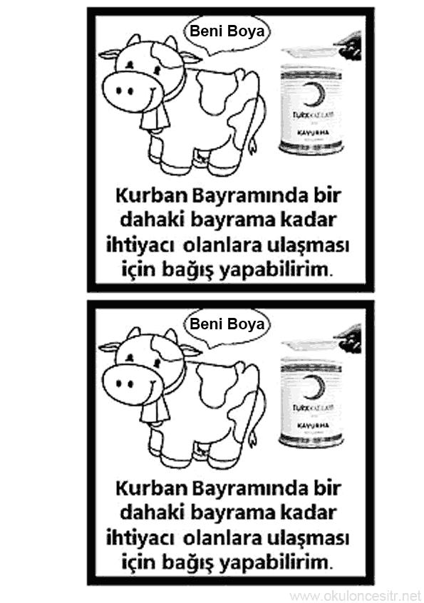 Kızılay Haftası Boyama Sayfası
