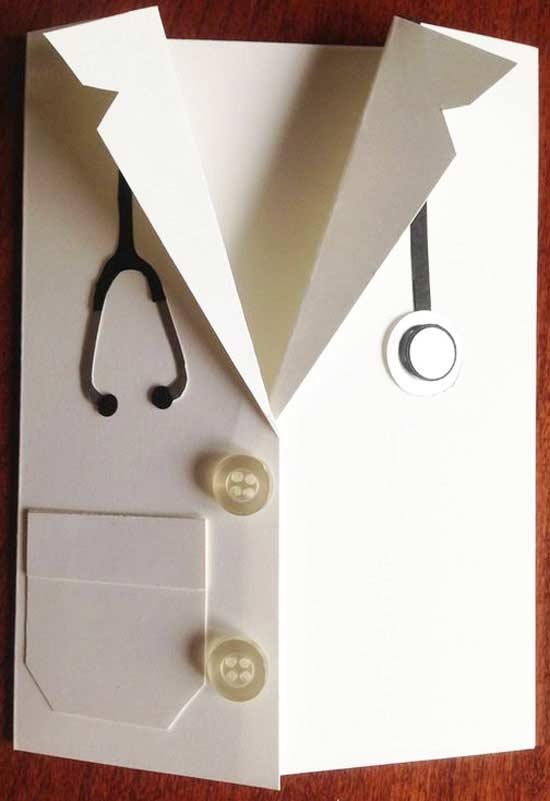 Открытки для медика своими руками