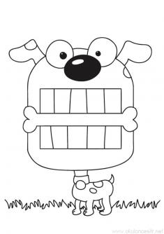 Köpek Boyama Sayfası
