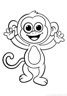Maymun Boyama Sayfası