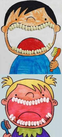 Okul Öncesi Diş Etkinliği
