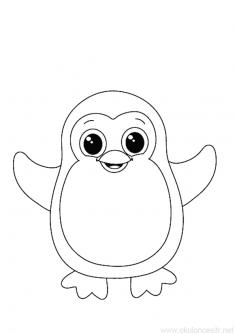 Penguen Boyama Sayfası