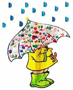 Kalıplı Şemsiye Yağmur Etkinliği