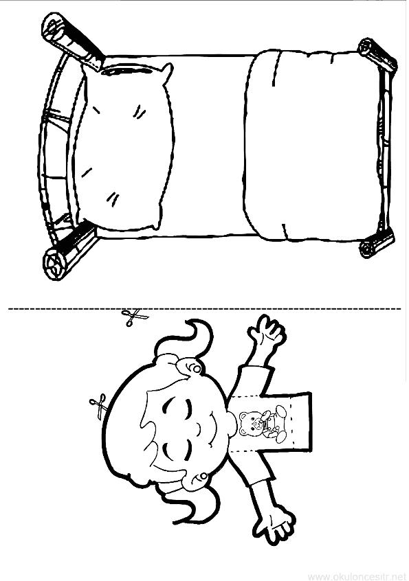 Uyuyan Kız Kalıbı