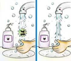 Korona Sabun Etkinliği
