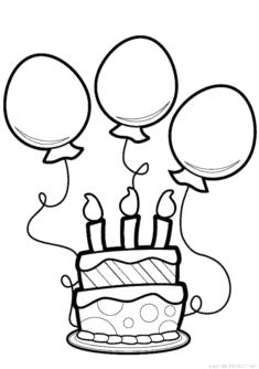 Pasta Kek Boyama Sayfası