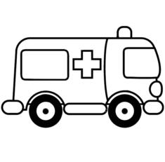 ambulans-boyama-sayfasi