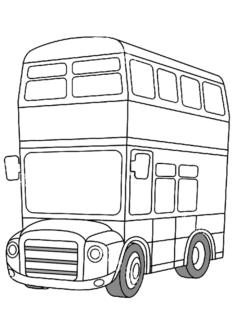 ciftkatliotobus-boyama-sayfasi