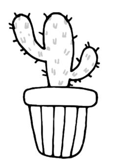 kaktus-boyama-sayfasi