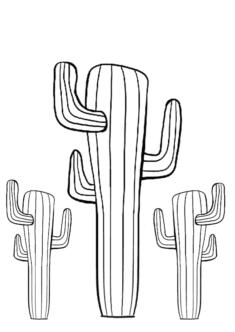 kaktus3-boyama-sayfasi