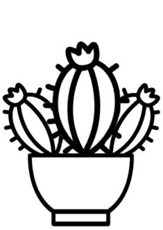 kaktus7-boyama-sayfasi