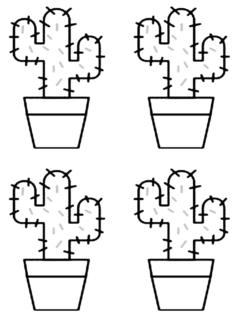 kaktusler2-boyama-sayfasi