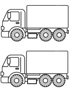 kamyonlar-boyama-sayfasi