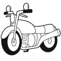 motorsiklet-boyama-sayfasi