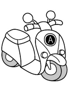 motorsiklet5-boyama-sayfasi