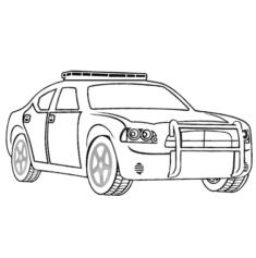 polisarabasi1-boyama-sayfasi