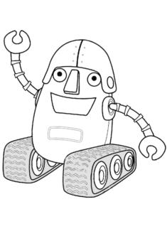 robotaraba-boyama-sayfasi