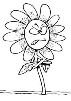tekcicek-boyama-sayfasi