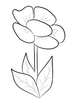 tekcicek11-boyama-sayfasi