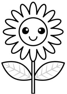 tekcicek12-boyama-sayfasi