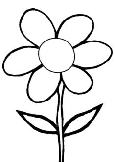 tekcicek16-boyama-sayfasi
