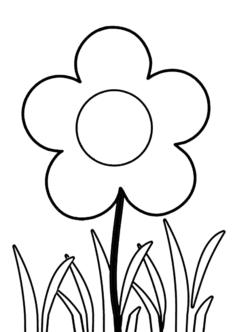 tekcicek6-boyama-sayfasi