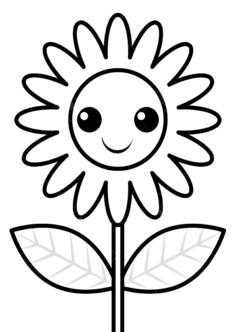 tekcicek7-boyama-sayfasi