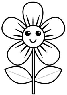 tekcicek8-boyama-sayfasi