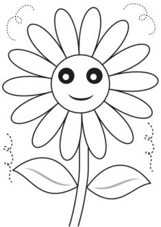 tekcicek9-boyama-sayfasi