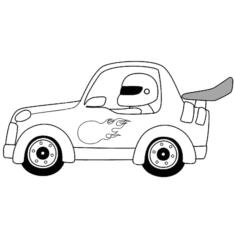 yarisarabasi9-boyama-sayfasi