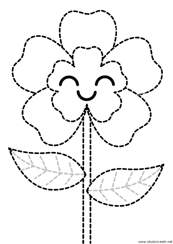 Çiçek Çizgi Çalışması