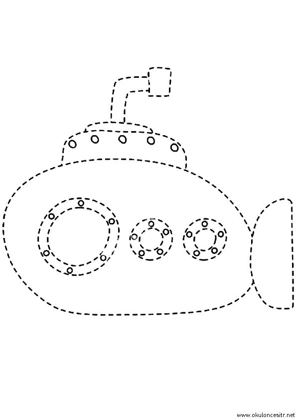 Denizaltı Çizgi Çalışması