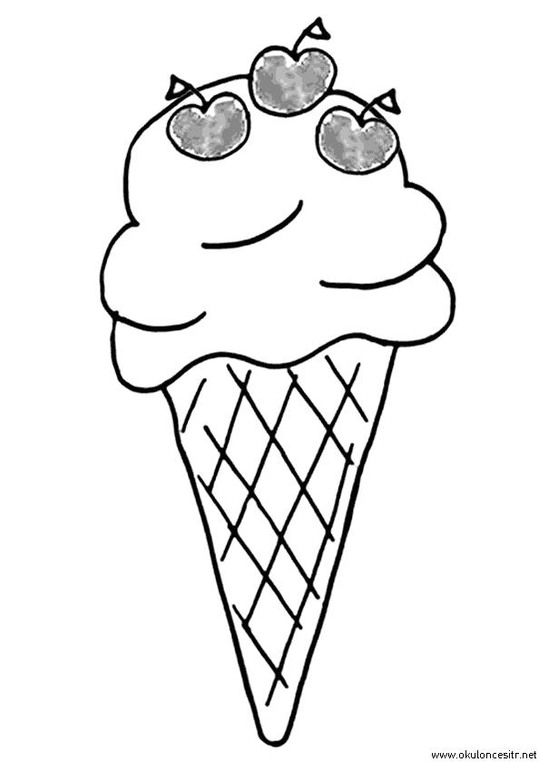 Dondurma Boyama