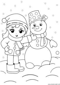 kardan-adam-boyama-snowman-coloring-(46)