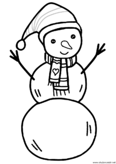 kardan-adam-boyama-snowman-coloring-(49)