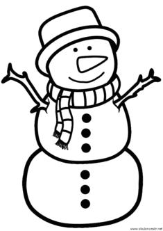 kardan-adam-boyama-snowman-colorings