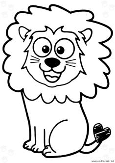 aslan-boyama-sayfasi-lion-coloring-page (66)
