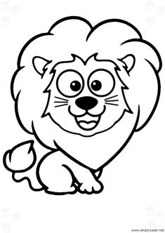 aslan-boyama-sayfasi-lion-coloring-page (69)