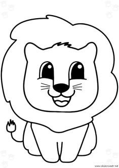 aslan-boyama-sayfasi-lion-coloring-page (70)